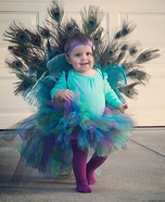 DIY Baby Peacock Costume