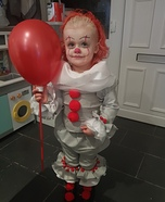 Baby Pennywise Homemade Costume