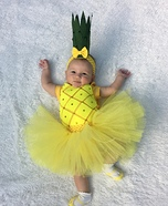 Baby Pineapple Homemade Costume