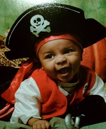Homemade Baby Pirate Costume