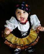 Baby Girl Pirate Costume