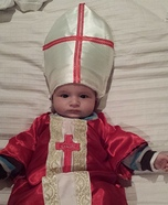 Baby Pope Homemade Costume
