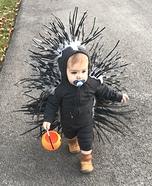 Baby Porcupine Homemade Costume