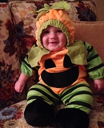 Baby Pumpkin Costume