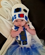 Baby R2D2 Homemade Costume