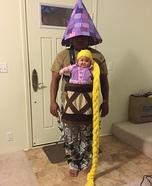 Baby Rapunzel Homemade Costume
