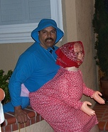 Baby Riding his Grandma Costume