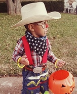 Baby Rodeo Clown Homemade Costume