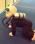 Baby Scuba Diver Homemade Costume