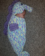 Baby Sea Horse Homemade Costume