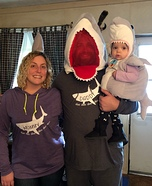Baby Shark doo doo doo Homemade Costume