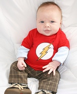 Baby Sheldon Cooper Homemade Costume