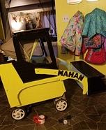 Baby Skid Steer Operator Homemade Costume