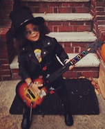 Baby Slash Homemade Costume