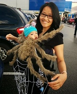 Baby Spider and Mom Web Costume