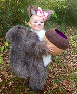 Baby Squirrel Homemade Costume
