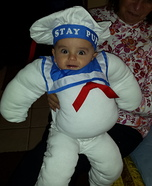 Baby Stay Puft Homemade Costume