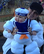 Cute baby costume ideas: Baby Stay Puft Marshmallow Baby Costume