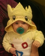 Baby Togepi Pokemon Homemade Costume