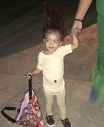 Baby Troll Homemade Costume
