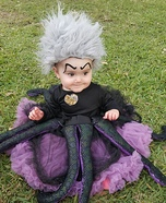 Baby Ursula Homemade Costume
