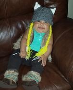 Baby Viking Halloween Costume DIY