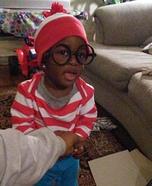 Baby Waldo Homemade Costume