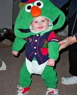 Baby Wally the Red Sox Mascot Homemade Costume