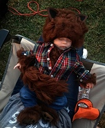 Baby Werewolf Homemade Costume