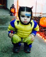 Baby Wolverine Halloween Costume