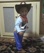 Baby Woody Homemade Costume
