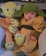 Baby Yoda Homemade Costume