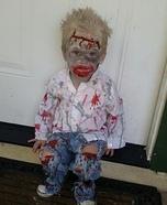 Baby Zombie Costume Idea