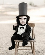 Babyham Lincoln Homemade Costume