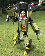 Babymech Homemade Costume