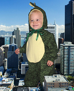 Babysaurus Homemade Costume