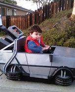 Back to the Future Homemade Costume