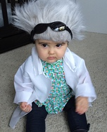 DIY baby costume ideas: Back to the Future Costume