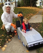 Parent and baby costume ideas - Back to the Future Costume