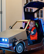DIY baby costume ideas: Back to the Future Baby Costume