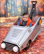 Back to the Future Baby Homemade Costume