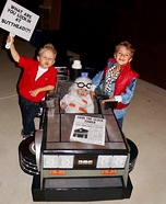 Back to the Future Brothers Homemade Costume