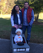 Back to the Future Family Costumes