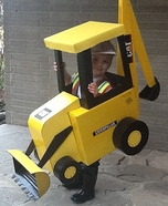 Backhoe Homemade Costume