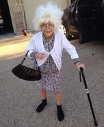 Bad Grandma Girl's Costume