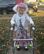 Bad Grandma Homemade Costume