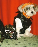 Bad to the Bone Dogs Homemade Costumes