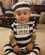 Bad to the Bone Baby Costume