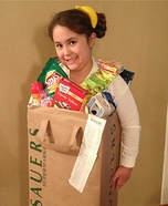 Bag o' Groceries Homemade Costume