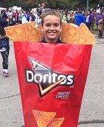 Bag of Doritos Homemade Costume
